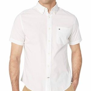 Tommy Hilfiger Mens XXXL Button Down Shirt White